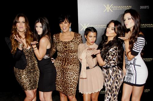 Kardashian Jenner family affair