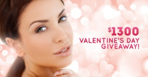 $1300 Valentine's Day Giveaway!