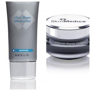 SkinMedica Dermal Repair & Ultra Sheer Moisturizer