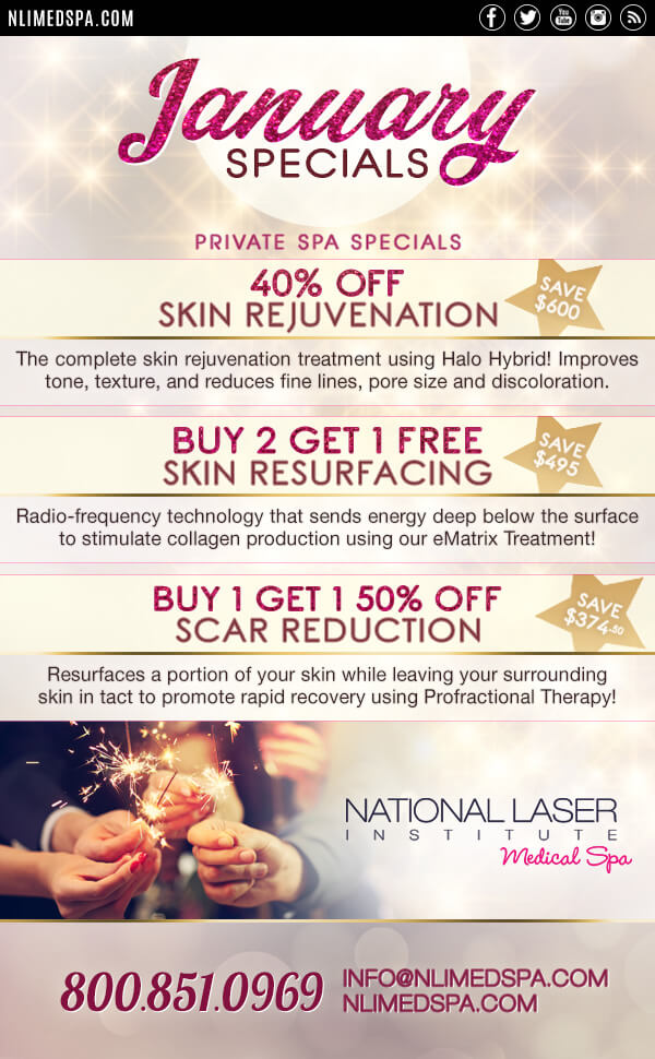 Skin Care Resolutions National Laser Institute Medical Spa